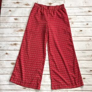 ONE WORLD Palazzo Pants SzS RED